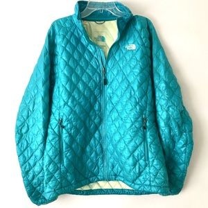 The North Face Blue Puffer Jacket
